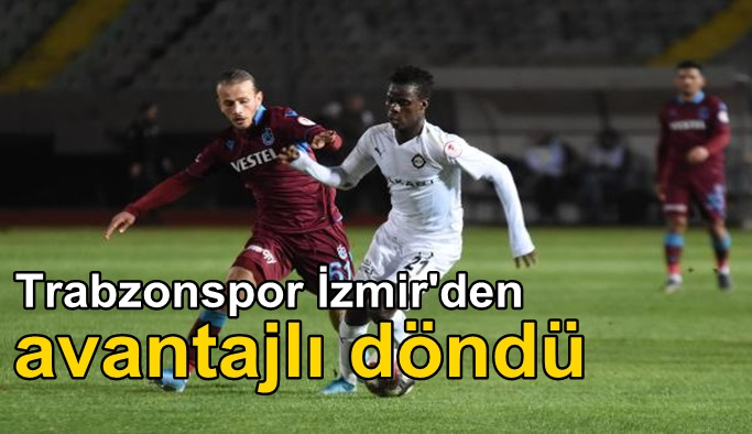 Altay - Trabzonspor: 1-2