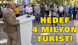 Soyer: Hedef 4 milyon turist